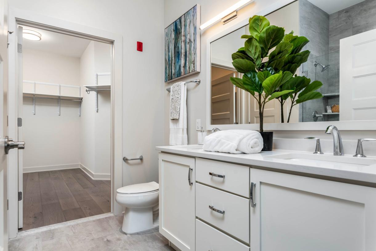 Bathroom featured in the 3B By Toll Brothers in Philadelphia, PA