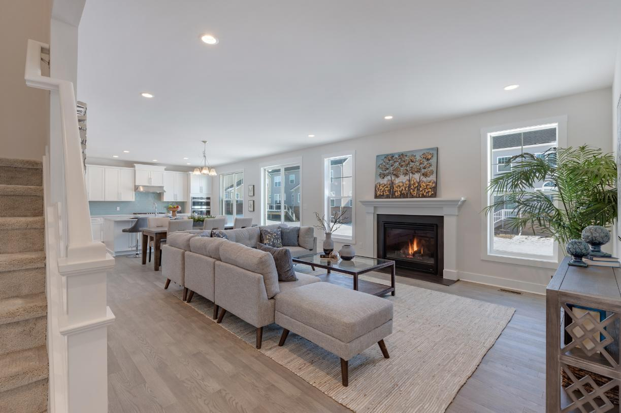 Living Area featured in the Stanford By Toll Brothers in Ann Arbor, MI