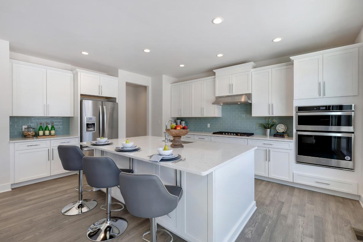 Kitchen featured in the Stanford By Toll Brothers in Ann Arbor, MI
