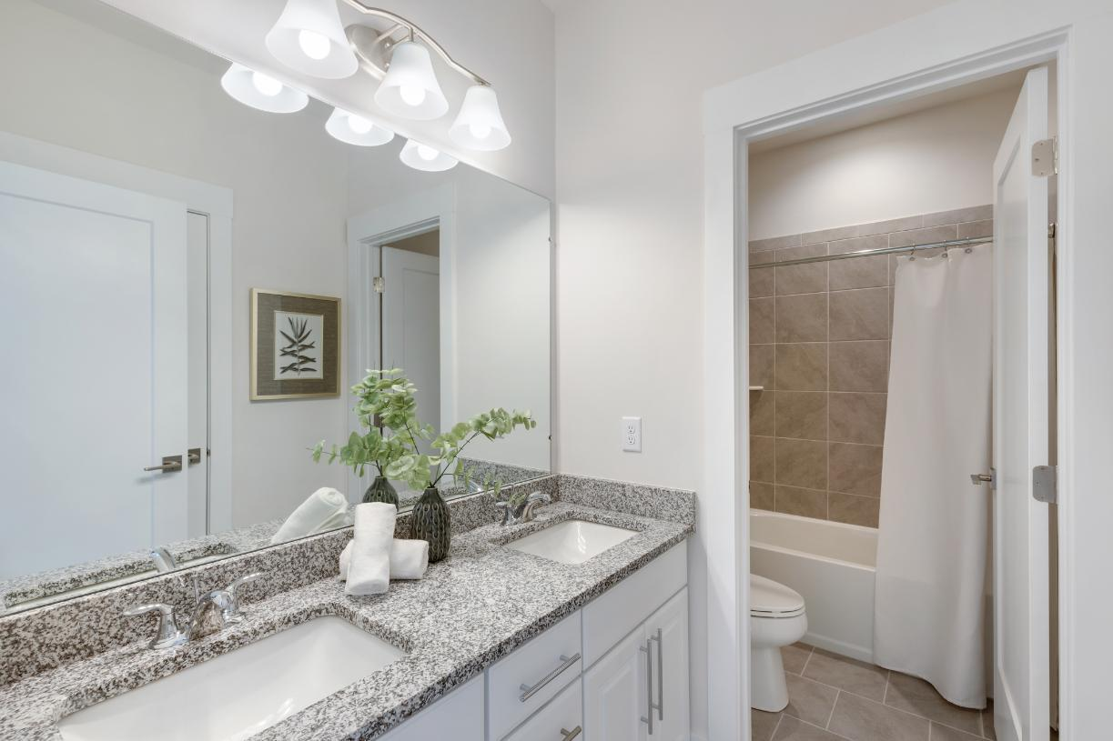 Bathroom featured in the Stanford By Toll Brothers in Ann Arbor, MI