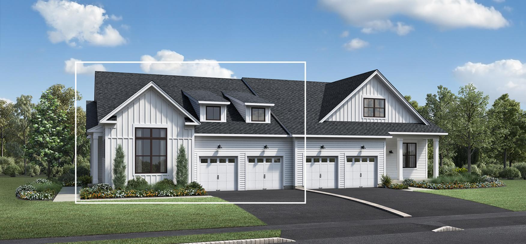 Exterior featured in the Fifer By Toll Brothers in Boston, MA