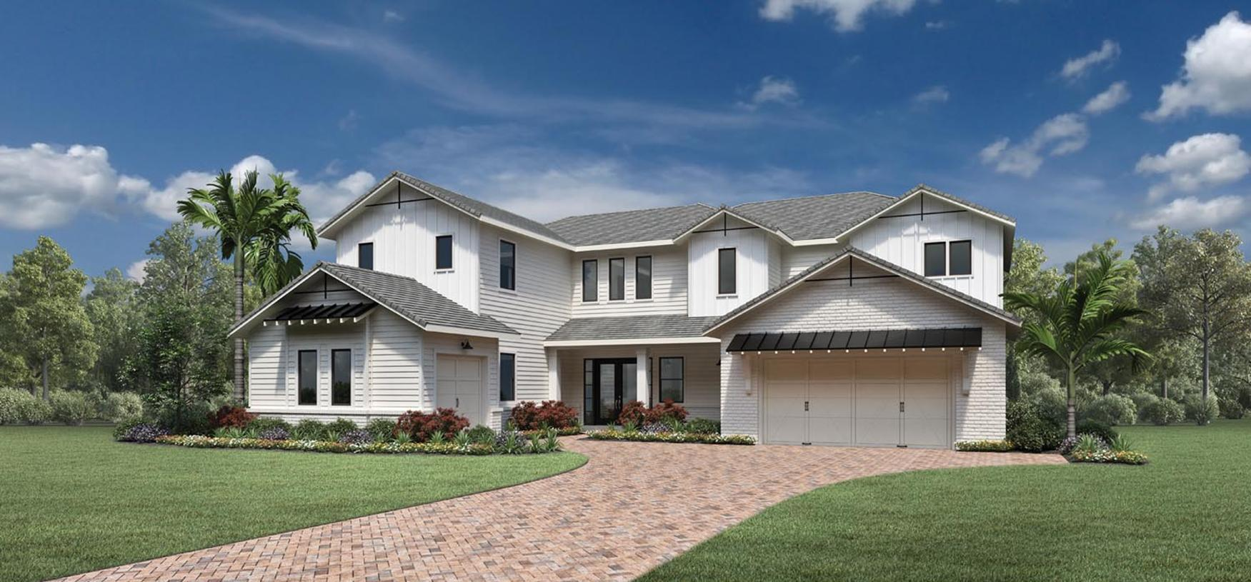 Exterior featured in the Abington By Toll Brothers in Broward County-Ft. Lauderdale, FL