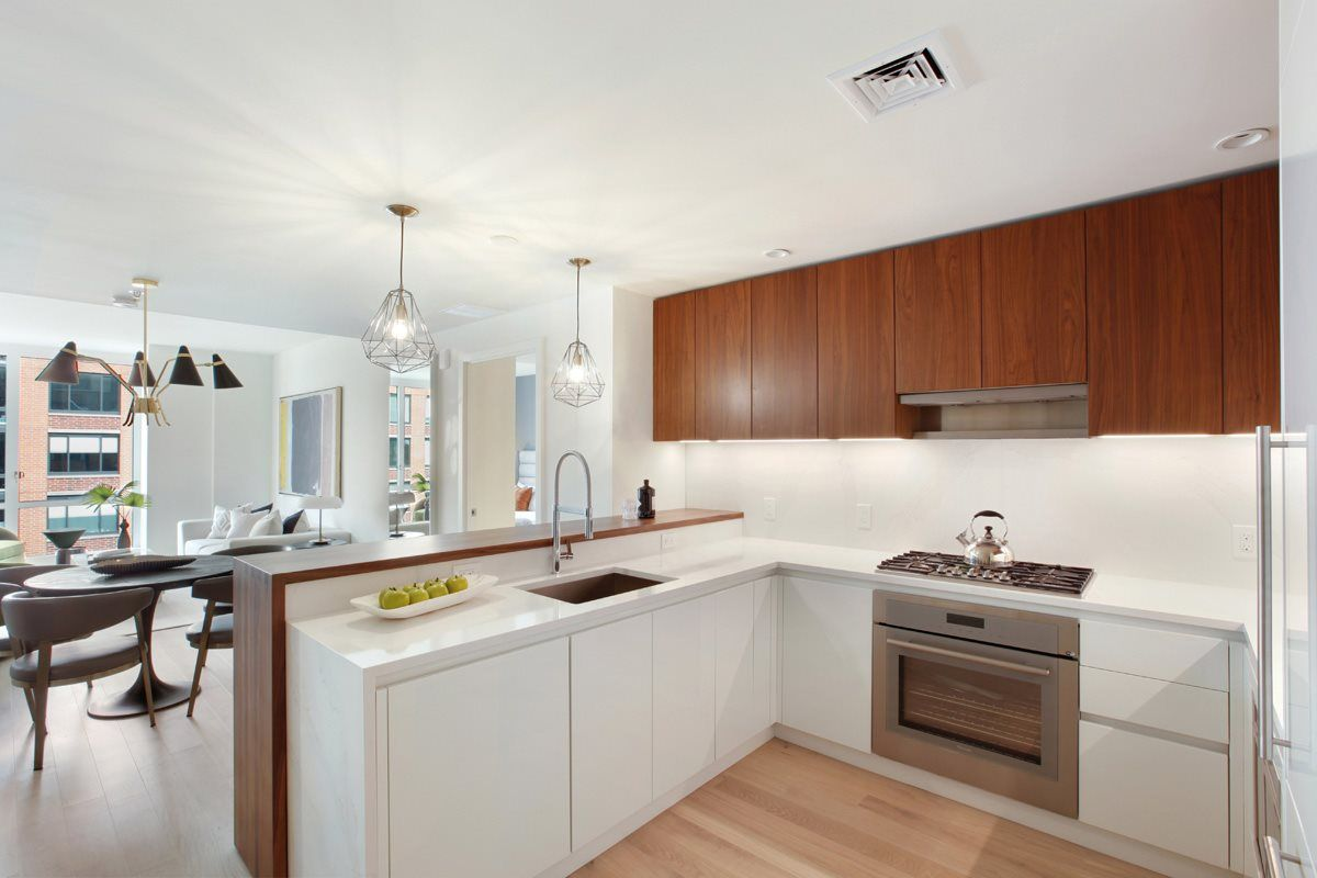 Kitchen featured in the 10F By Toll Brothers in Hudson County, NJ