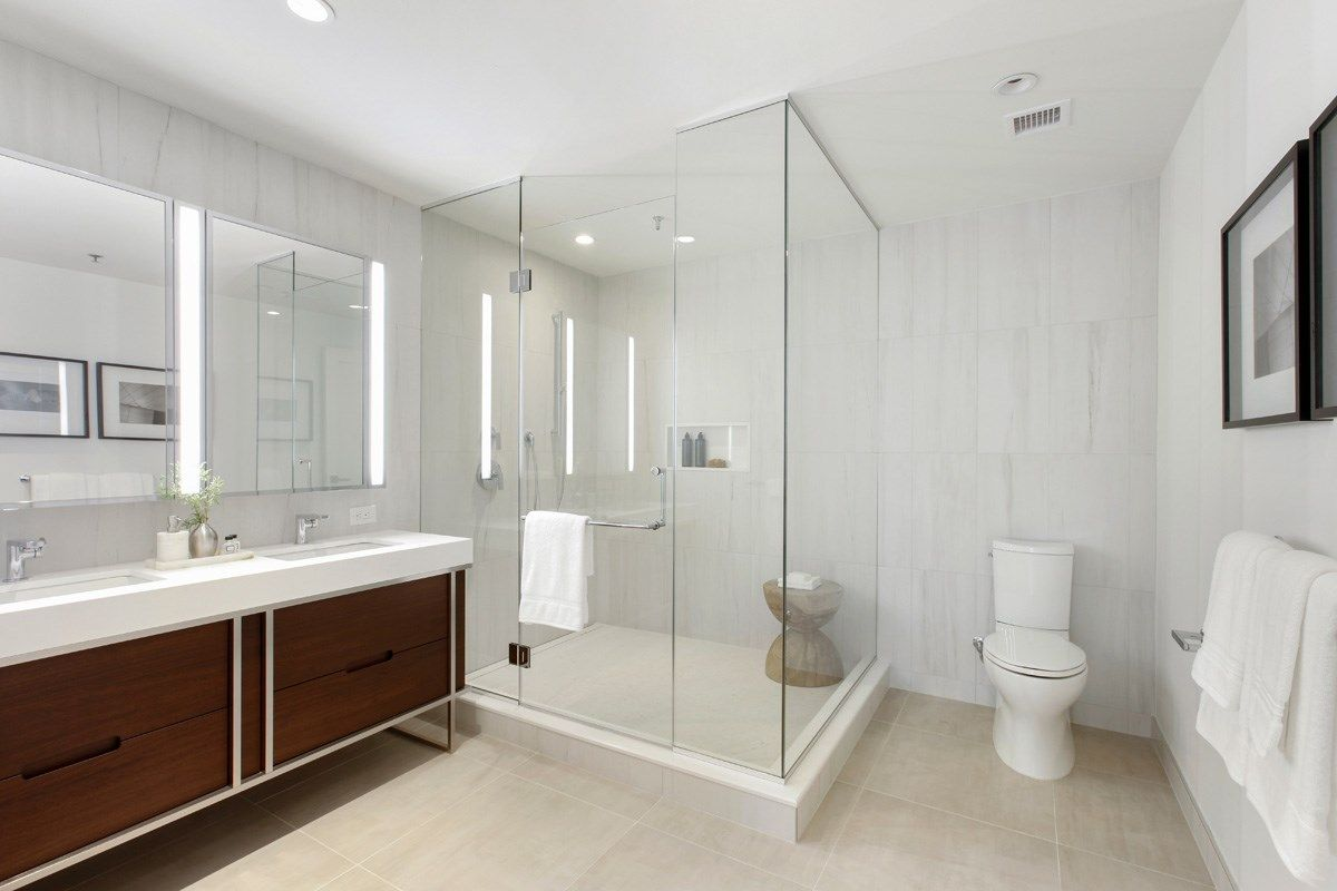 Bathroom featured in the 10F By Toll Brothers in Hudson County, NJ