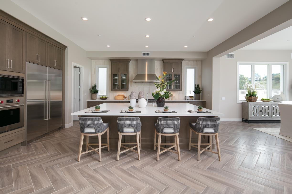 Kitchen featured in the Sunningdale By Toll Brothers in Los Angeles, CA