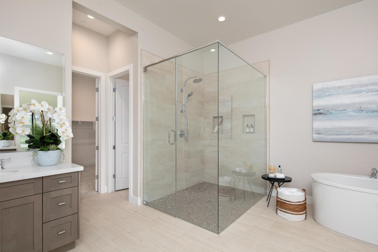 Bathroom featured in the Sunningdale By Toll Brothers in Los Angeles, CA