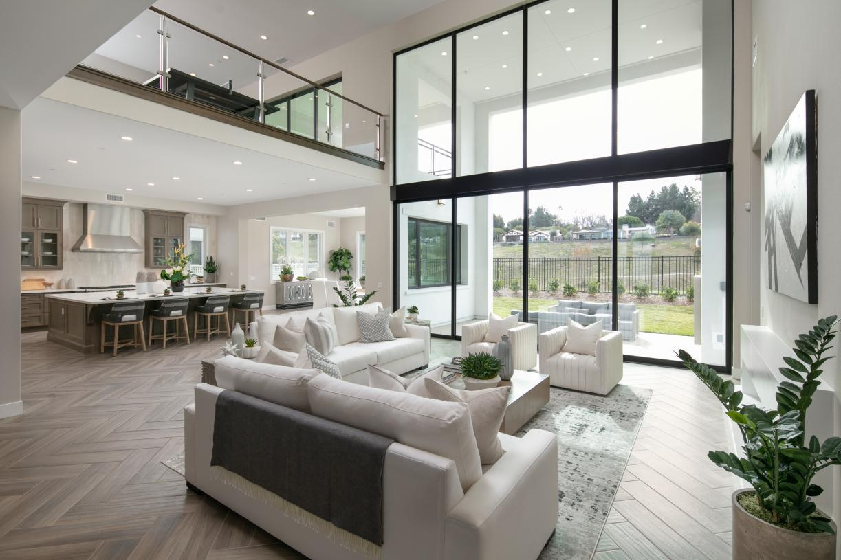 Living Area featured in the Sunningdale By Toll Brothers in Los Angeles, CA