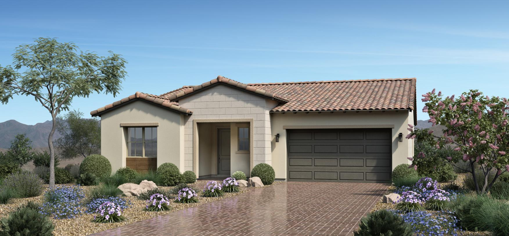 Exterior featured in the Alba By Toll Brothers in Las Vegas, NV