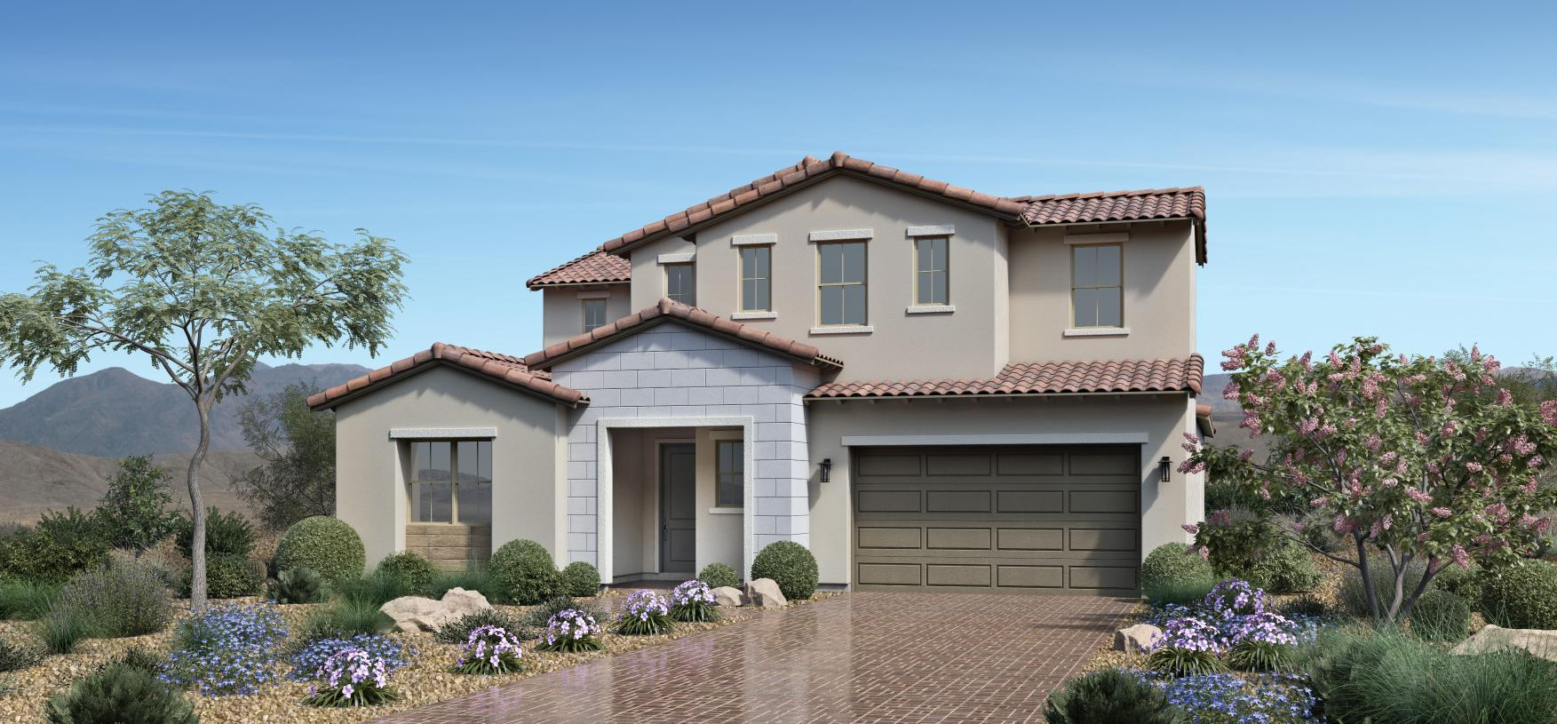 Exterior featured in the Alba Elite By Toll Brothers in Las Vegas, NV