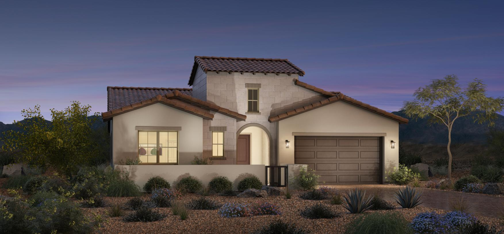 Exterior featured in the Estella By Toll Brothers in Las Vegas, NV