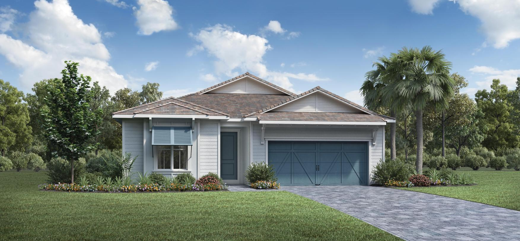 Exterior featured in the McKenna By Toll Brothers in Palm Beach County, FL