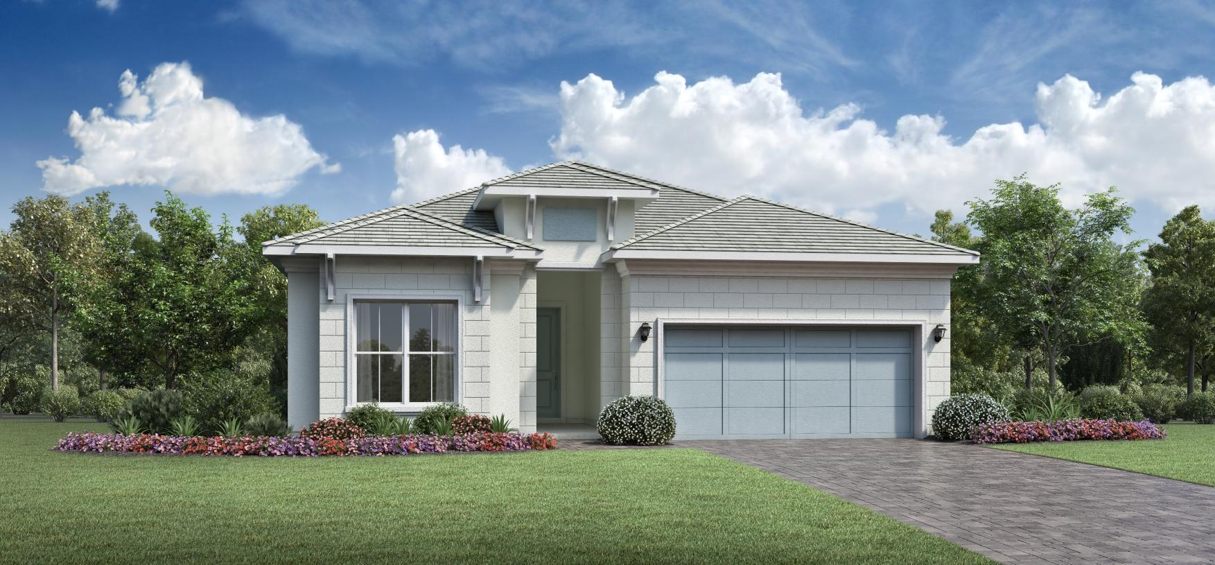 Exterior featured in the Maya By Toll Brothers in Palm Beach County, FL