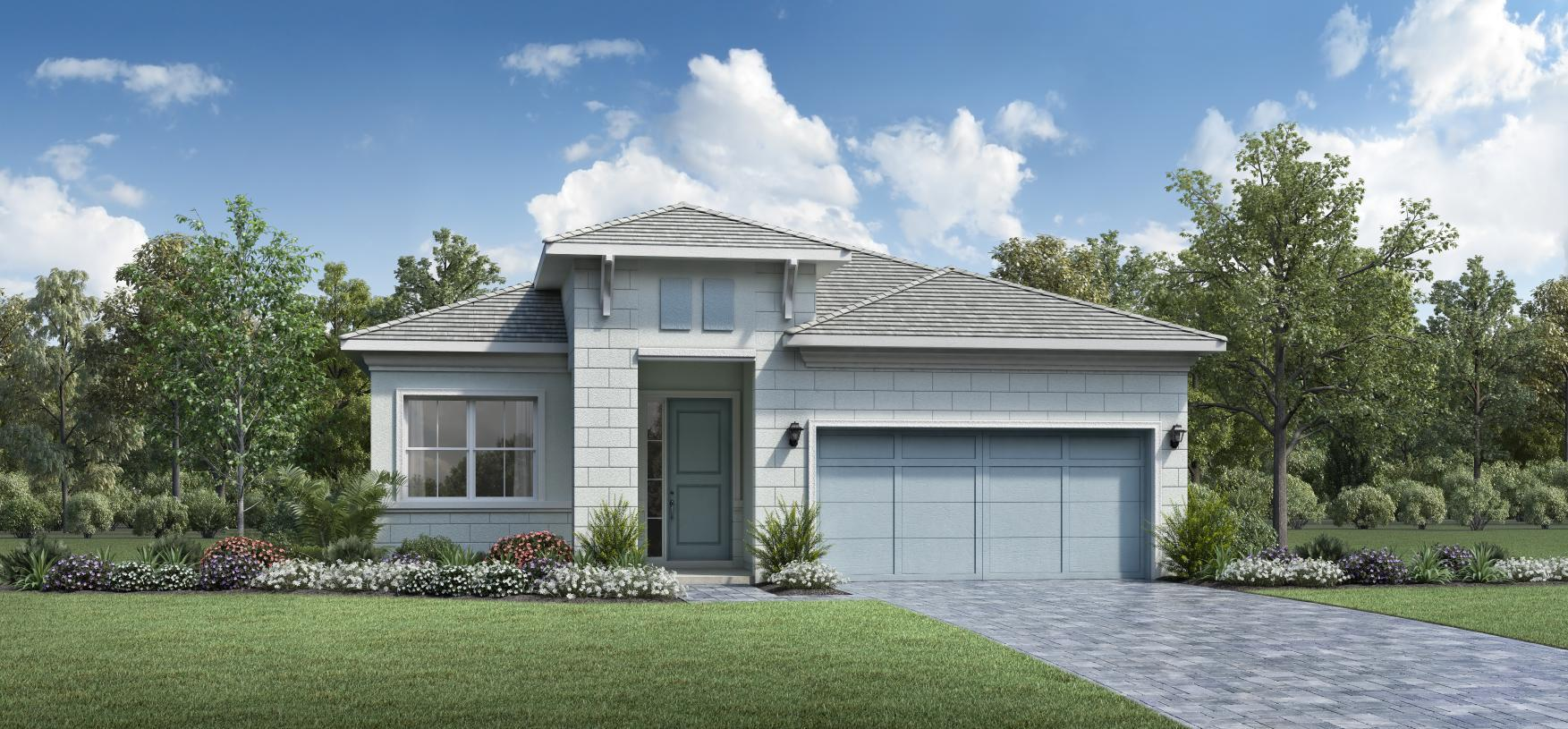 Exterior featured in the Samantha By Toll Brothers in Palm Beach County, FL