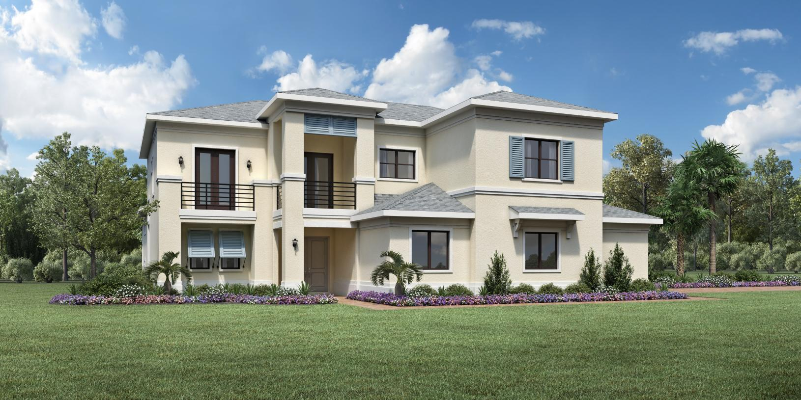 Exterior featured in the Callahan By Toll Brothers in Broward County-Ft. Lauderdale, FL