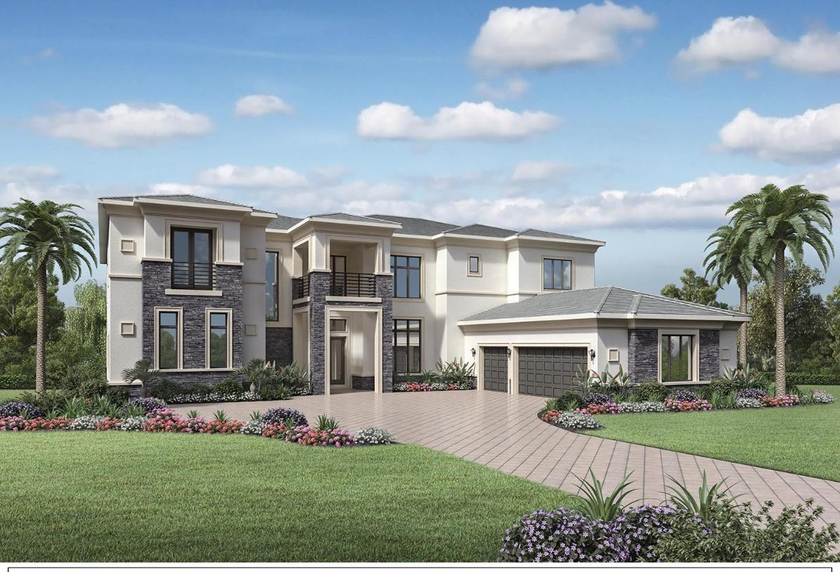 Exterior featured in the Villa Divina By Toll Brothers in Broward County-Ft. Lauderdale, FL