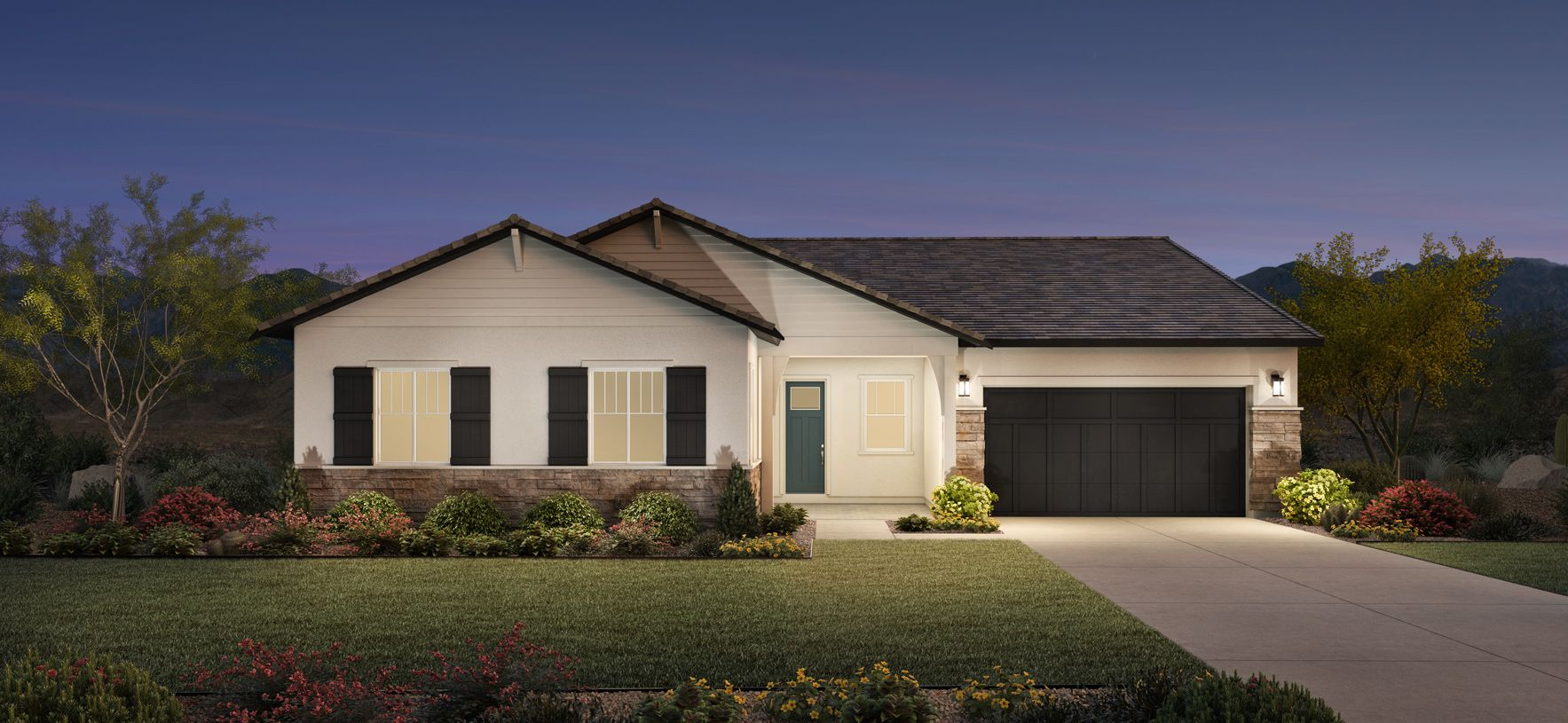 Exterior featured in the Lockhart By Toll Brothers in Phoenix-Mesa, AZ