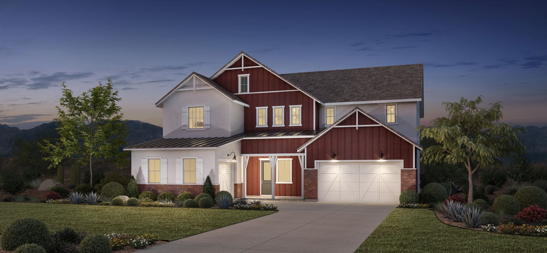 Exterior featured in the Monetta By Toll Brothers in Phoenix-Mesa, AZ