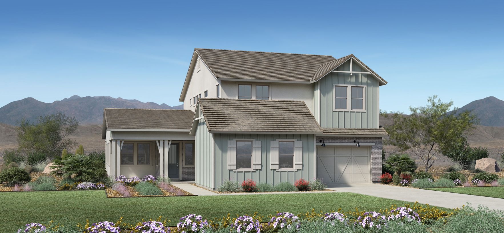 Exterior featured in the Bridgeton By Toll Brothers in Phoenix-Mesa, AZ