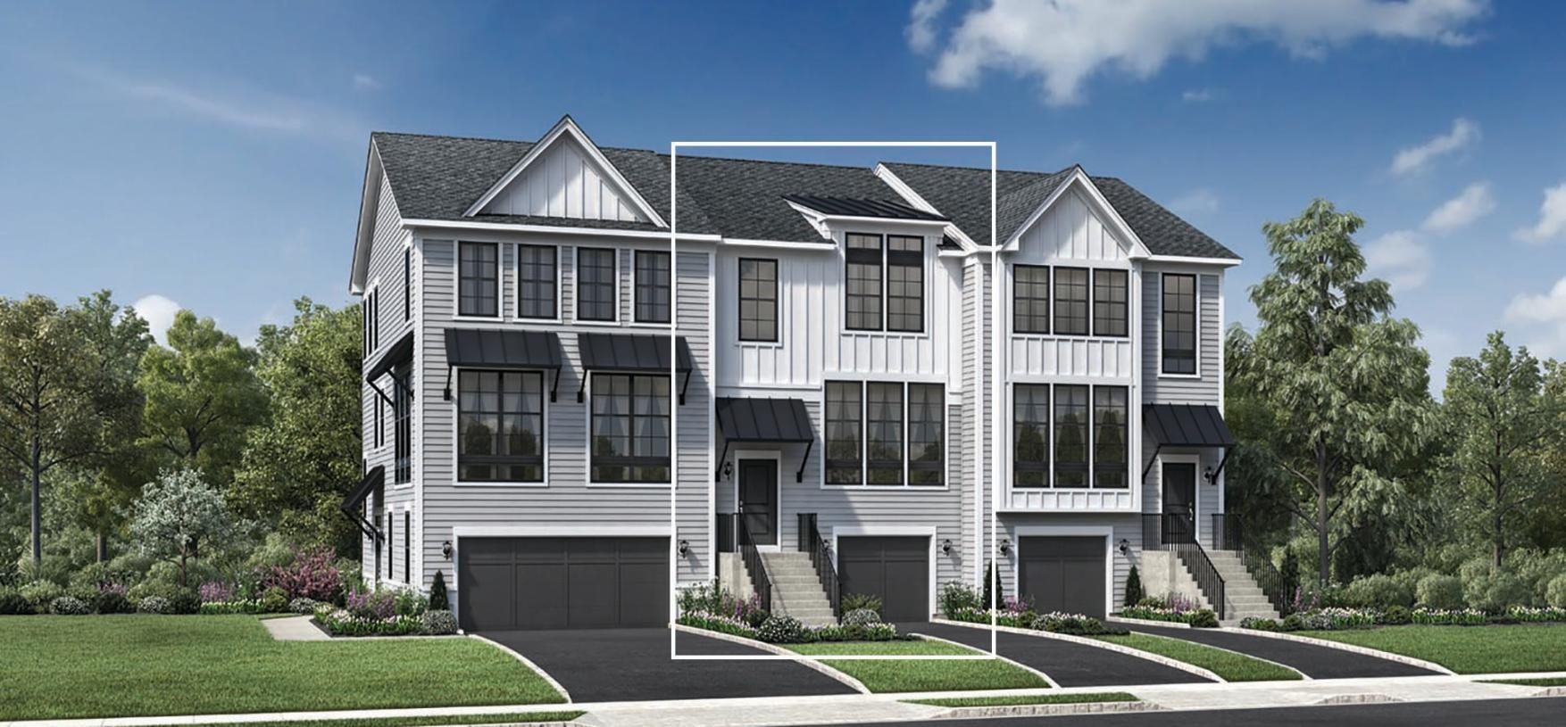 Exterior featured in the Ansford By Toll Brothers in Danbury, CT