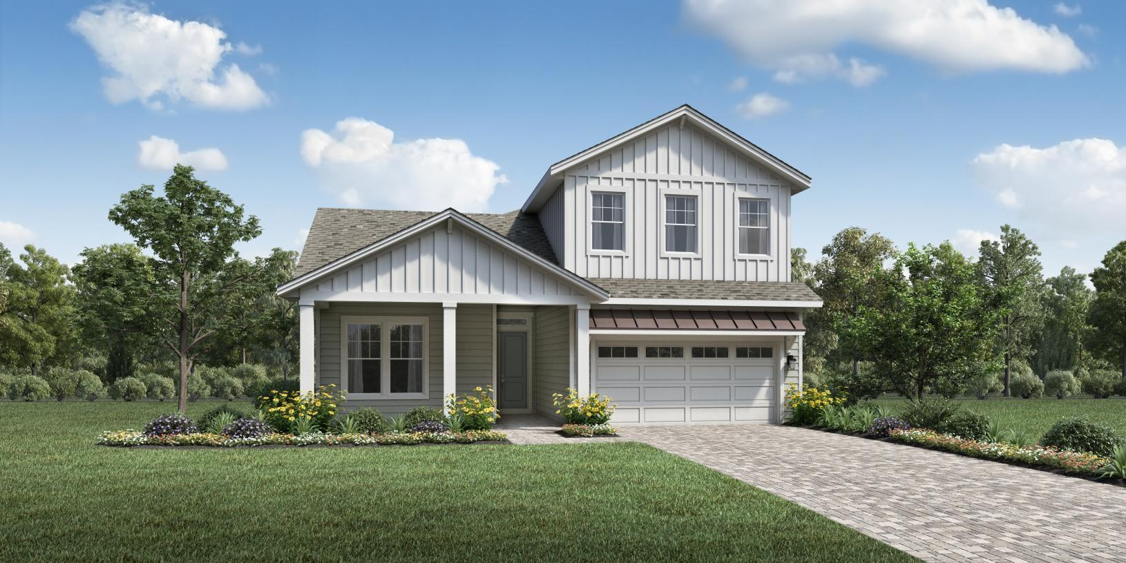 Exterior featured in the Sparrow Elite By Toll Brothers in Jacksonville-St. Augustine, FL