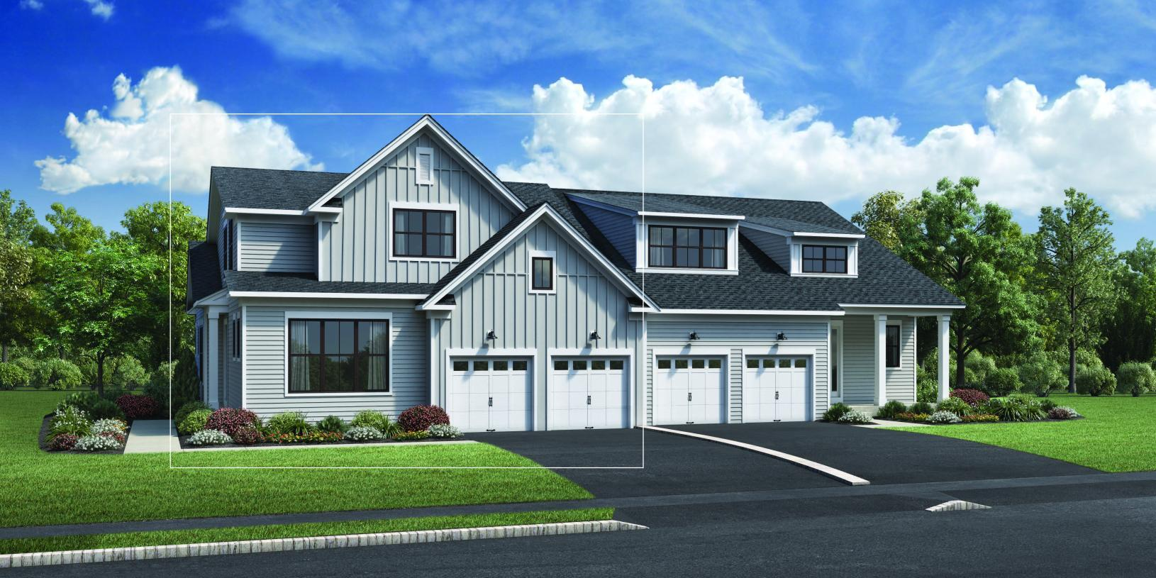 Exterior featured in the Hager By Toll Brothers in Boston, MA