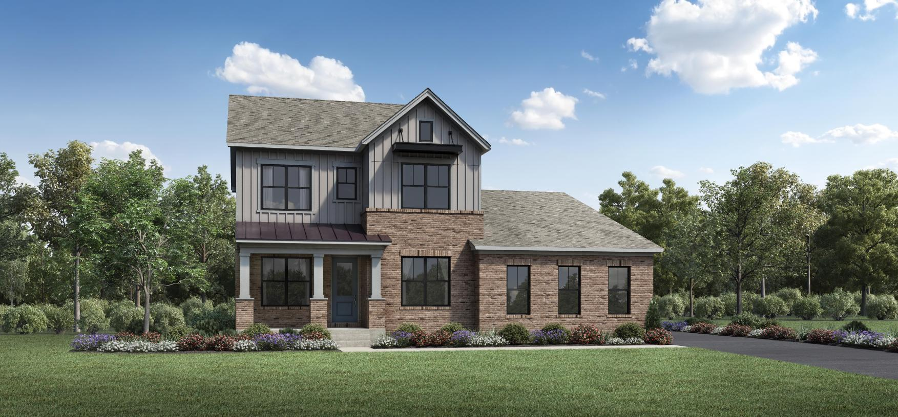 Exterior featured in the Viola By Toll Brothers in Philadelphia, PA