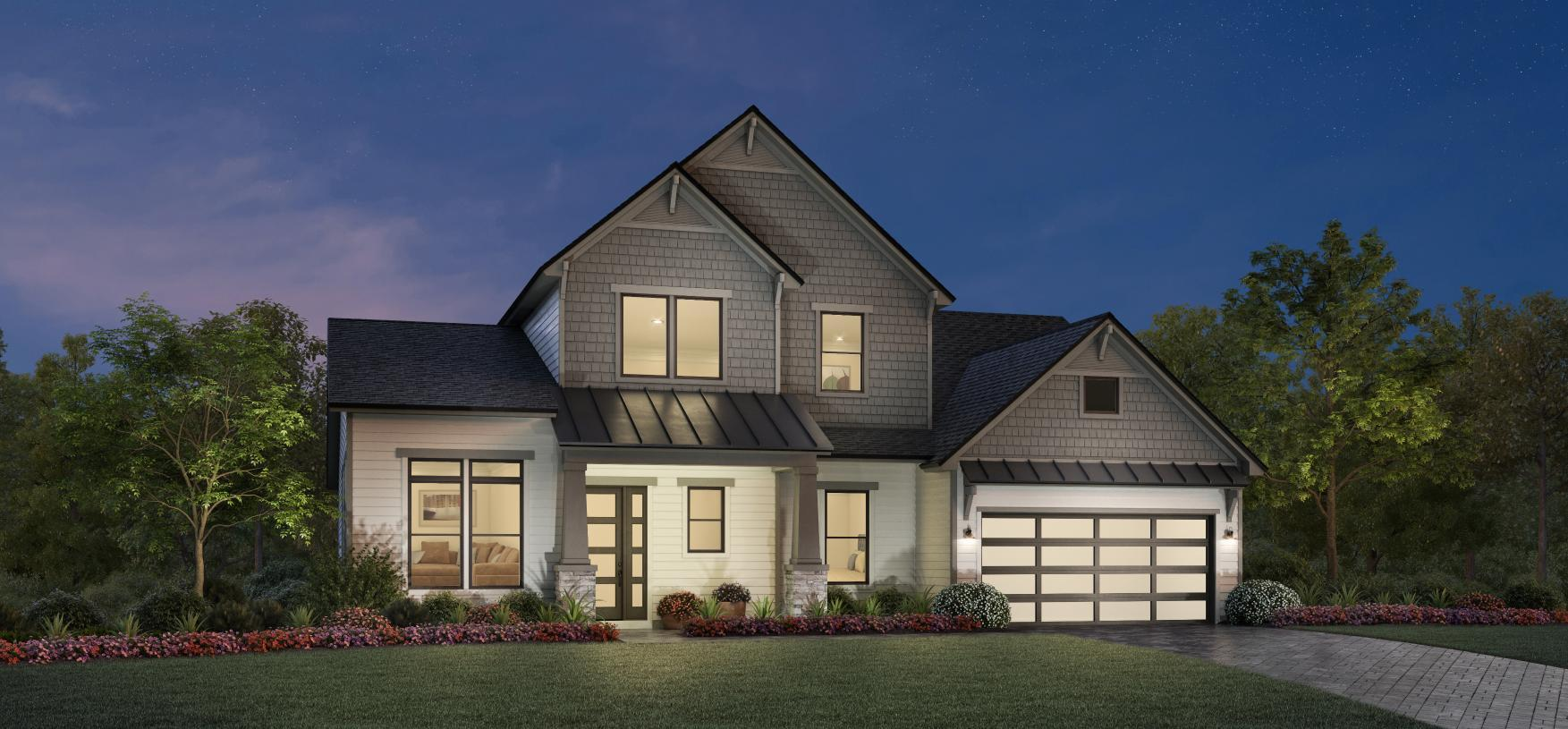Exterior featured in the San Tropez By Toll Brothers in Jacksonville-St. Augustine, FL