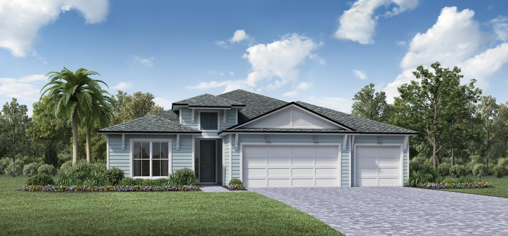 Exterior featured in the Delmore By Toll Brothers in Jacksonville-St. Augustine, FL