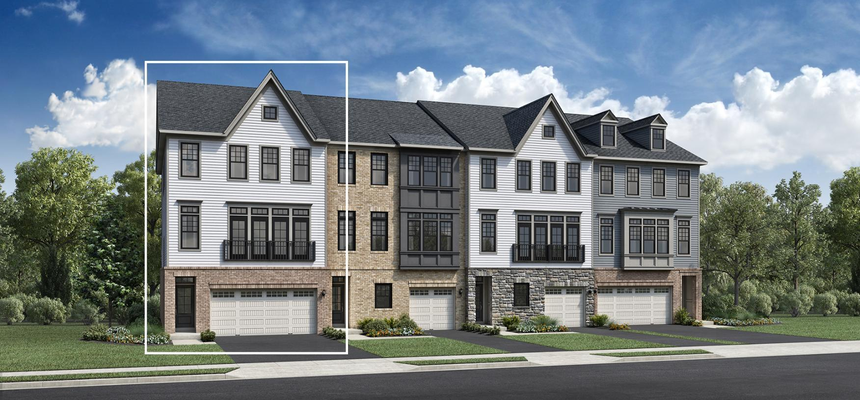 Exterior featured in the Briercliff By Toll Brothers in Bergen County, NJ