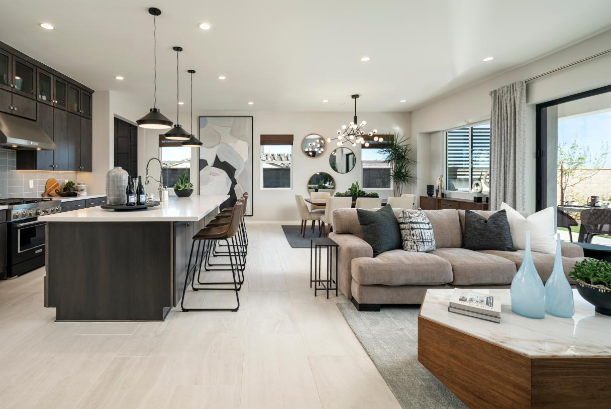 Living Area featured in the Catalan By Toll Brothers in Phoenix-Mesa, AZ