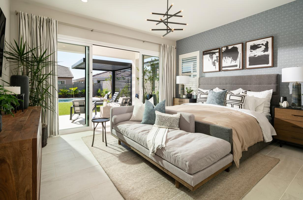 Bedroom featured in the Catalan By Toll Brothers in Phoenix-Mesa, AZ