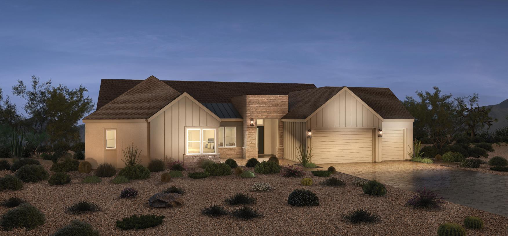 Exterior featured in the Arroyo By Toll Brothers in Las Vegas, NV