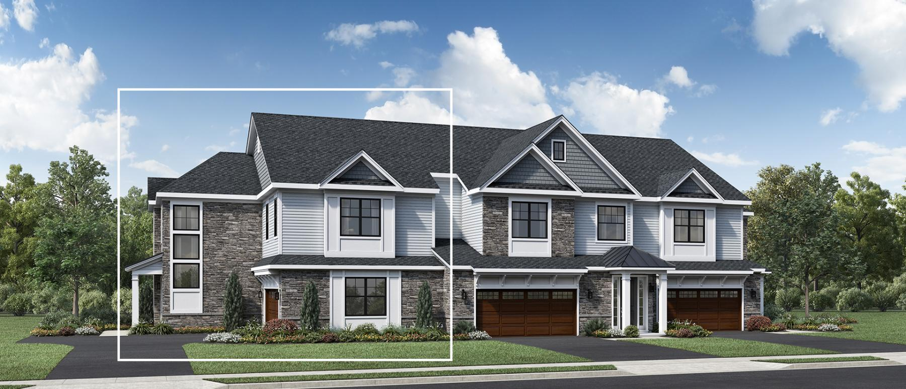 Exterior featured in the Corlake By Toll Brothers in Bergen County, NJ