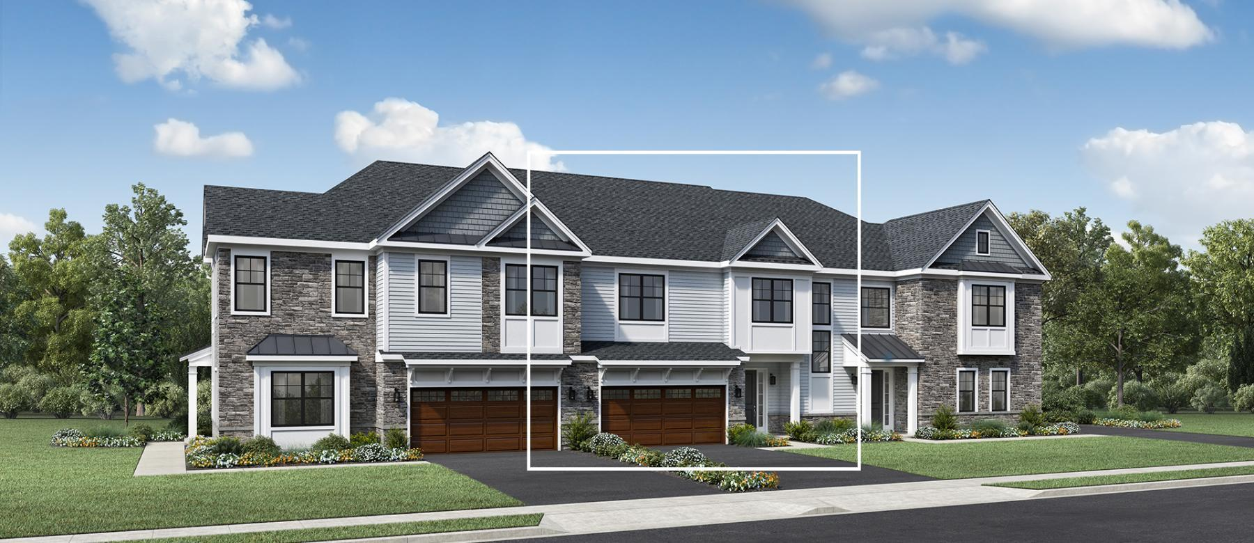 Exterior featured in the Elgin By Toll Brothers in Bergen County, NJ