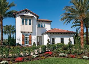 Massiano Italianate - Royal Cypress Preserve: Orlando, Florida - Toll Brothers