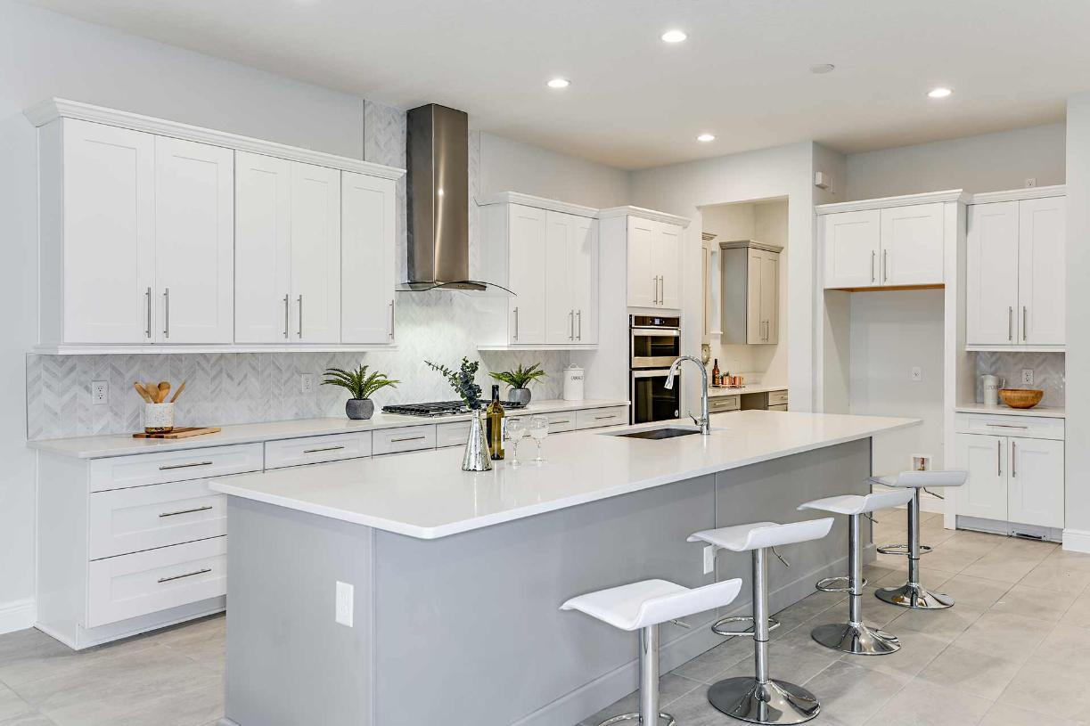 Kitchen featured in the Madeira By Toll Brothers in Orlando, FL