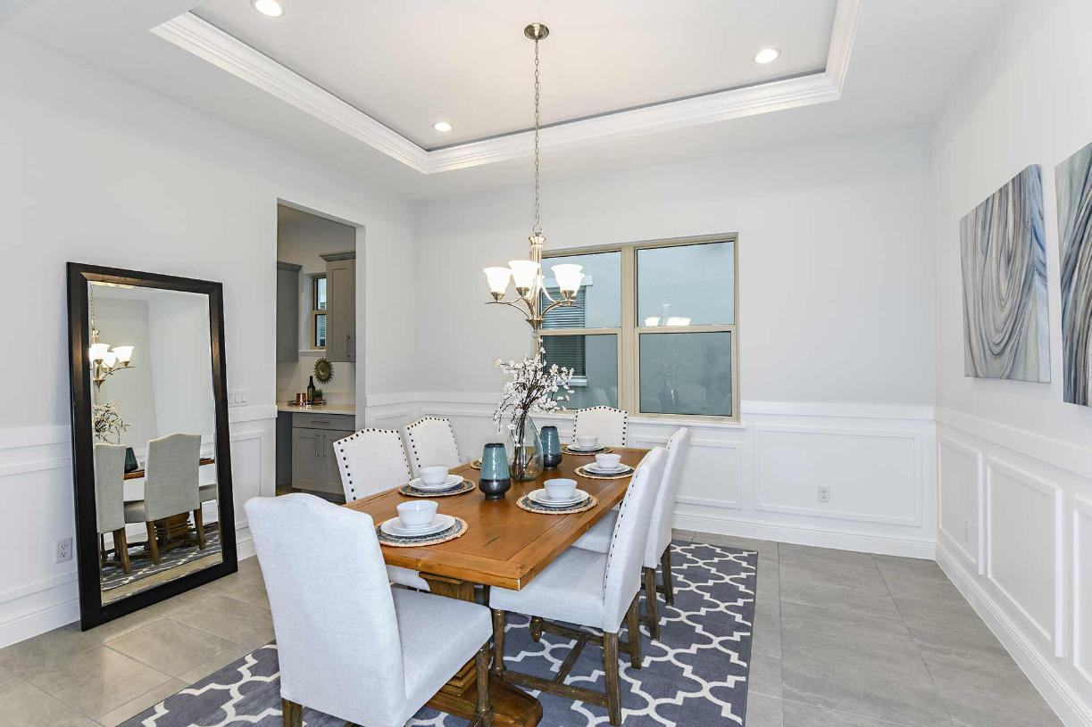 Living Area featured in the Madeira By Toll Brothers in Orlando, FL