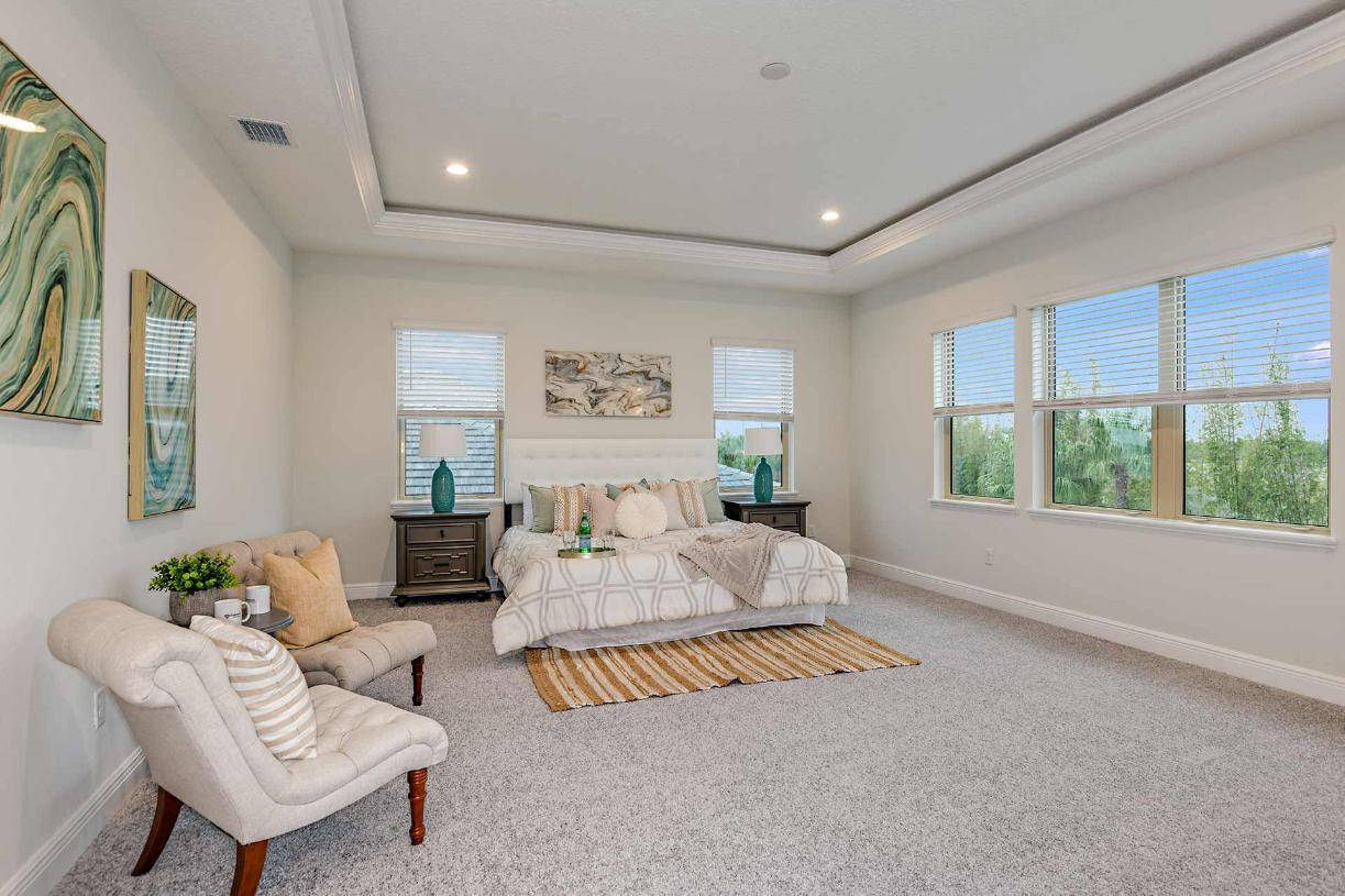 Bedroom featured in the Madeira By Toll Brothers in Orlando, FL