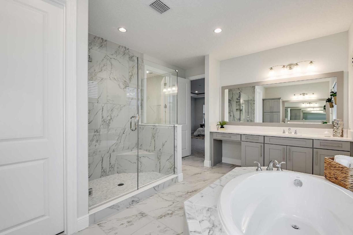 Bathroom featured in the Madeira By Toll Brothers in Orlando, FL