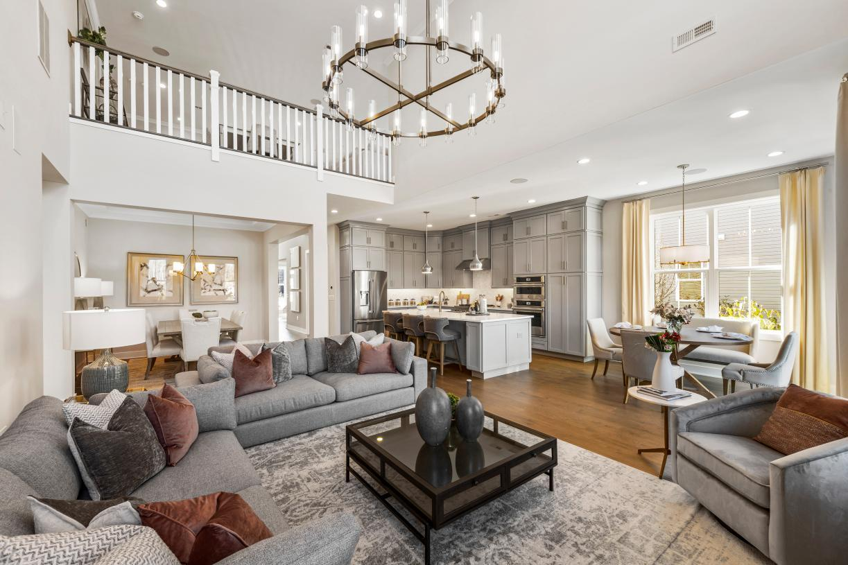 Living Area featured in the Bloomingdale By Toll Brothers in Monmouth County, NJ