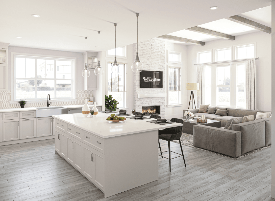 Living Area featured in the Bexley Grand By Toll Brothers in Somerset County, NJ