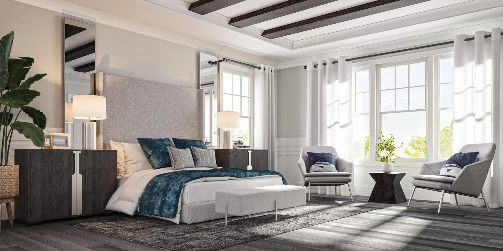 Bedroom featured in the Carlough By Toll Brothers in Bergen County, NJ