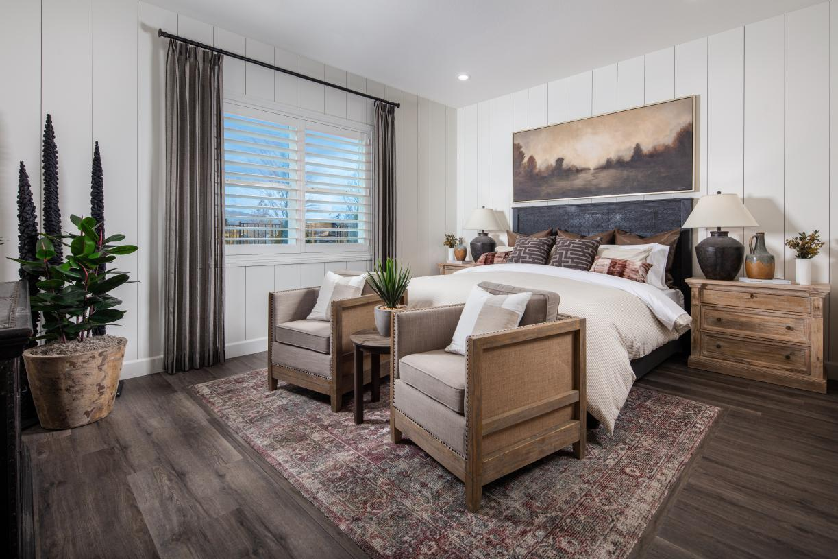 Bedroom featured in the Allia By Toll Brothers in Reno, NV