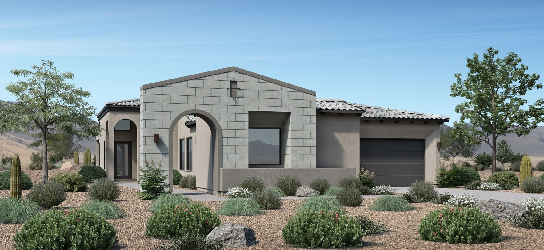 Exterior featured in the Pacifica By Toll Brothers in Phoenix-Mesa, AZ