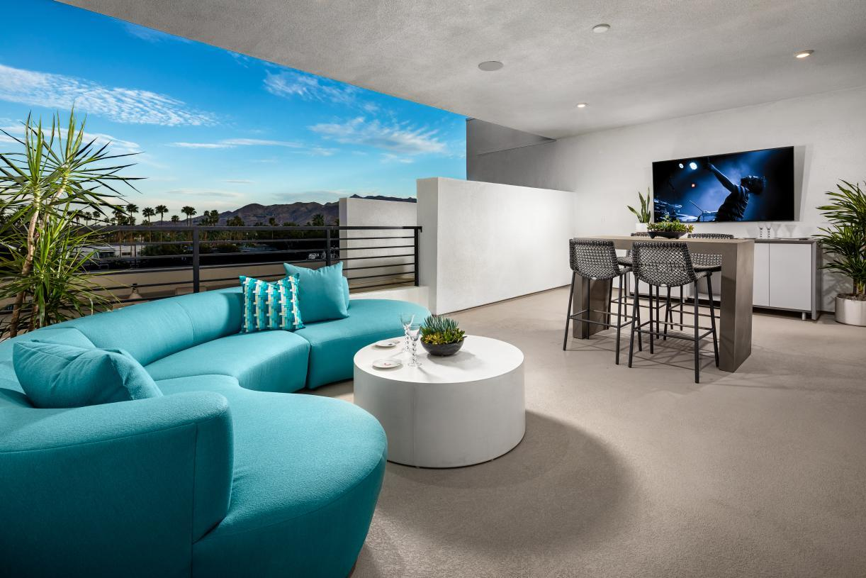 Living Area featured in the Cameo Elite By Toll Brothers in Riverside-San Bernardino, CA