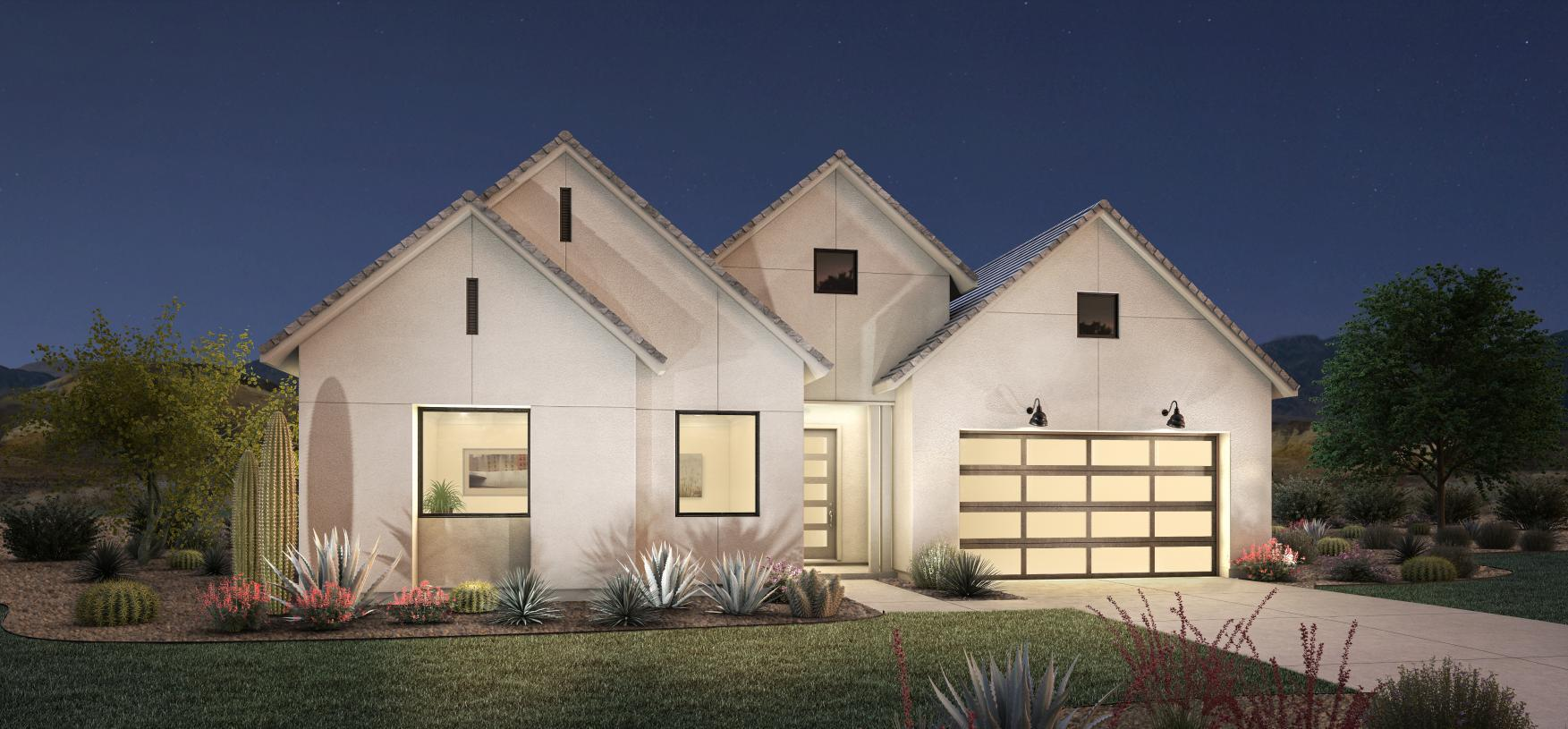 Exterior featured in the Berwyn By Toll Brothers in Phoenix-Mesa, AZ