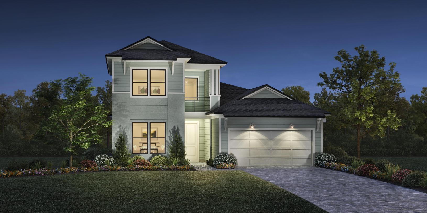 Exterior featured in the Mandigo Elite By Toll Brothers in Jacksonville-St. Augustine, FL