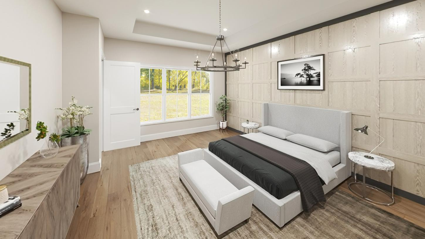 Bedroom featured in the Davis By Toll Brothers in Boston, MA