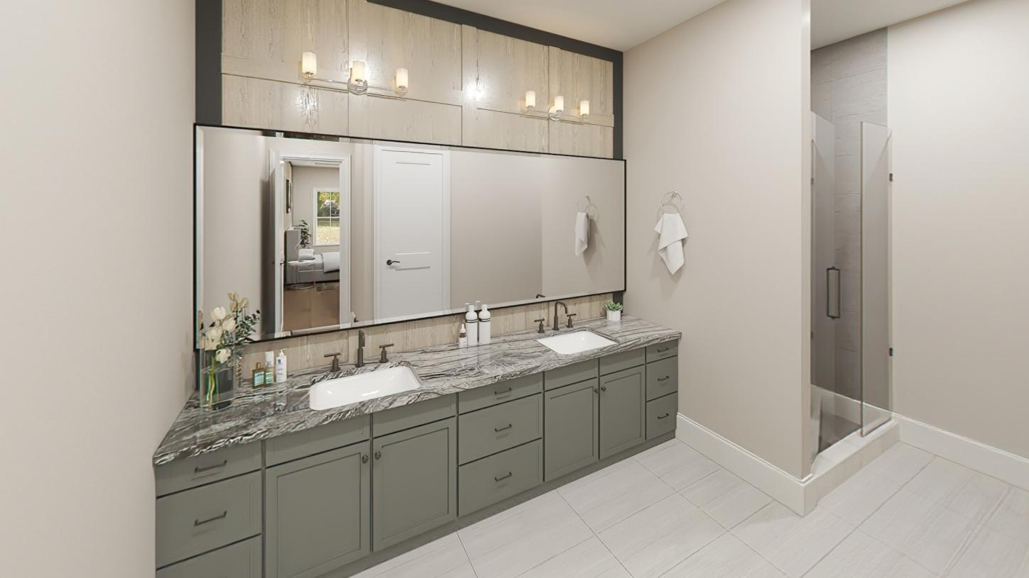 Bathroom featured in the Davis By Toll Brothers in Boston, MA
