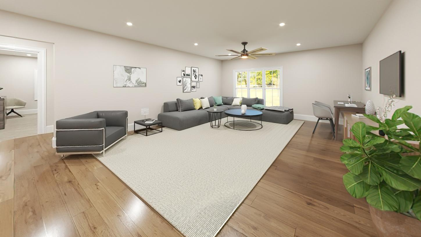 Living Area featured in the Davis By Toll Brothers in Boston, MA